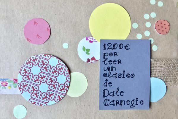 1200€ por Leer un Clásico de Dale Carnegie