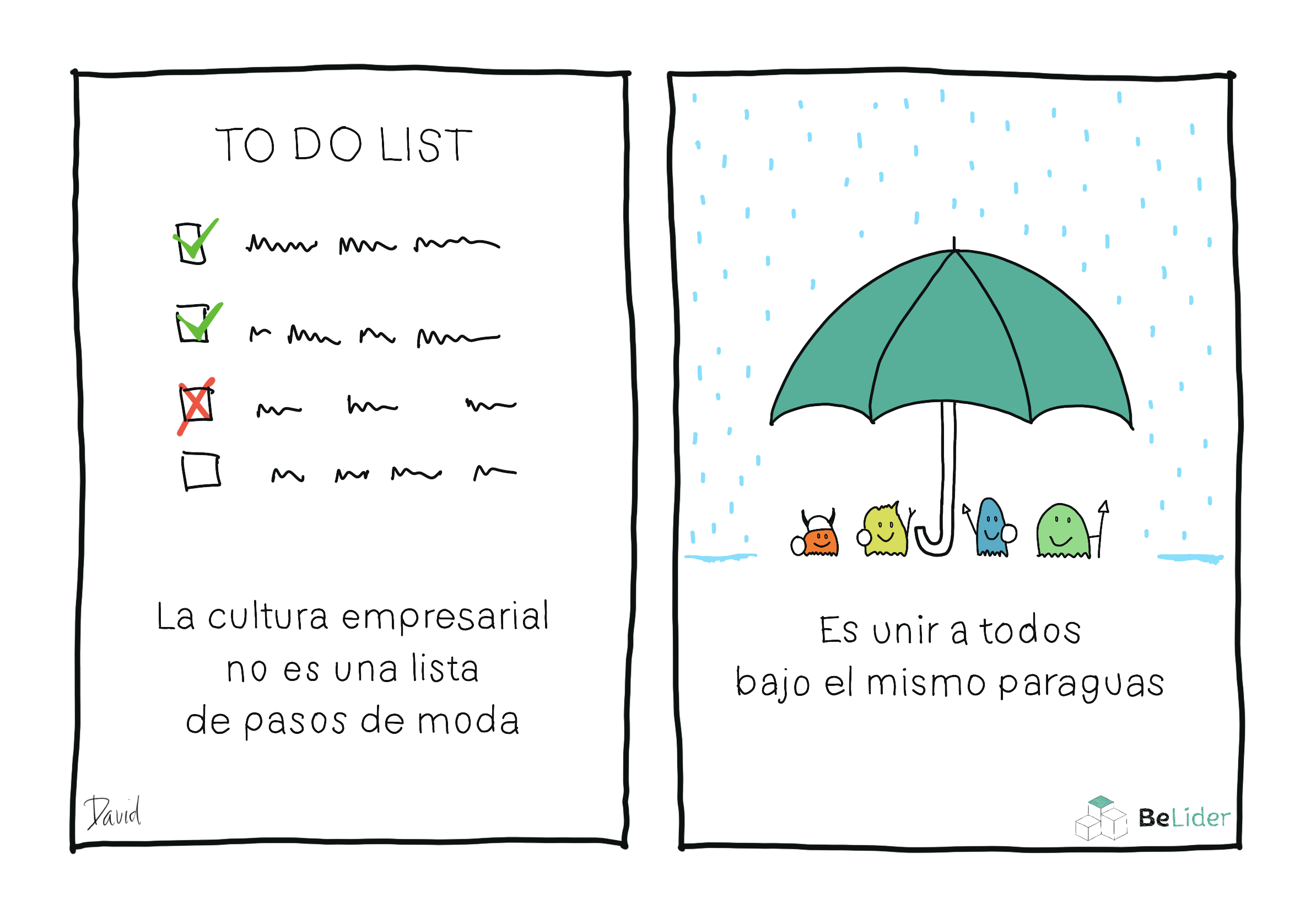 La Cultura Empresarial no es una lista de tareas